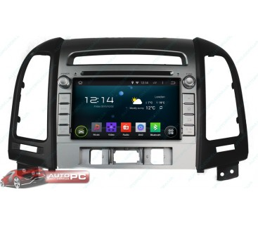 Штатная магнитола Hyundai Santa Fe 2012 - Android 4.4.4 - KLYDE