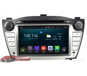 Штатная магнитола Hyundai IX35 / Tucson 2009 - 2014 - Android 4.4.4 - KLYDE
