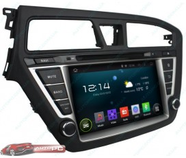 Штатная магнитола Hyundai i20 2014-2015 - Android 4.4.4 - KLYDE