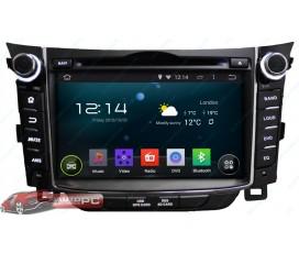 Штатная магнитола Hyundai i30 - Android 5.1.1 - KLYDE