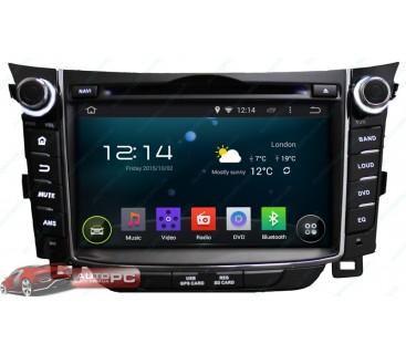 Штатная магнитола Hyundai i30 2011-2013 - Android 4.4.4 - KLYDE