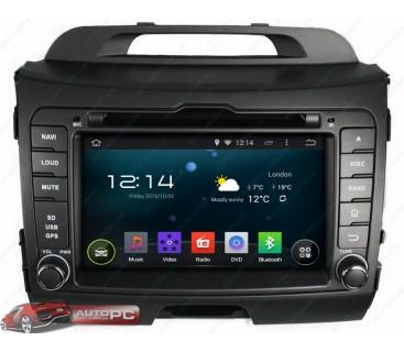 Штатная магнитола Kia Sportage R New 2010-2014 - Android 4.4.4 - KLYDE