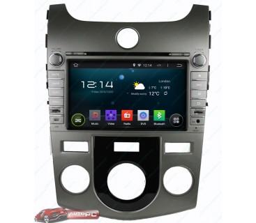 Штатная магнитола Kia Cerato 2009-2012 - Android 4.4.4 - KLYDE