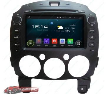 Штатная магнитола Mazda 2 2010-2012 - Android 4.4.4 - KLYDE