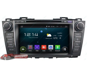 Штатная магнитола Mazda 5 2010-2014 - Android 4.4.4 - KLYDE