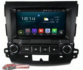 Штатная магнитола Mitsubishi Outlander XL 2005-2012 - Android 5.1.1 - KLYDE