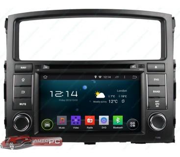 Штатная магнитола Mitsubishi Pajero - Android 4.4.4 - KLYDE