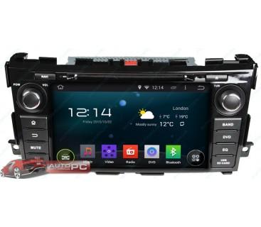 Штатная магнитола Nissan Teana 2013-2014 - Android 4.4.4 - KLYDE
