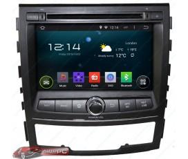 Штатная магнитола Ssang Yong Korando 2010-2013 - Android 8.1. - KLYDE