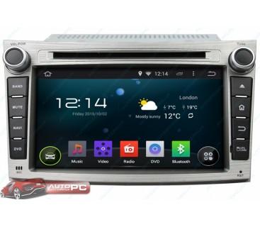 Штатная магнитола Subaru Outback - Android 4.4.4 - KLYDE