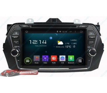 Штатная магнитола Suzuki Ciaz - Android 4.4.4 - KLYDE