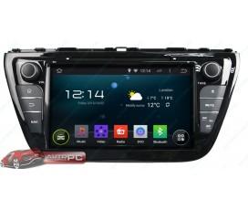 Штатная магнитола Suzuki SX4 2013-2015 - Android 5.1.1 - KLYDE