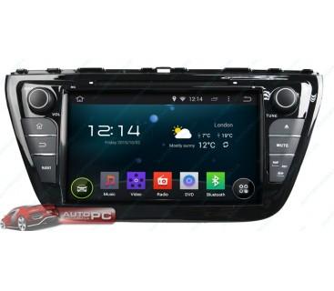Штатная магнитола Suzuki SX4 Scross 2013 - Android 4.4.4 - KLYDE