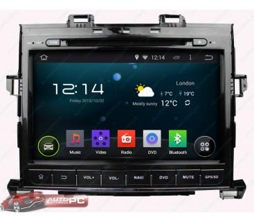 Штатная магнитола Toyota Alphard 2007-2013 - Android 4.4.4 - KLYDE