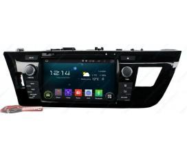 Штатная магнитола Toyota Corolla 2013-2016 - Android 5.1.1 - KLYDE