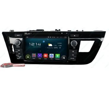 Штатная магнитола Toyota Corolla 2013-2014 - Android 4.4.4 - KLYDE