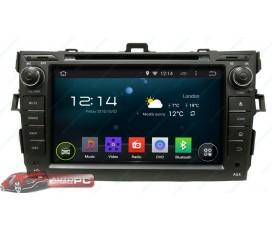 Штатная магнитола Toyota Corolla 2007-2013 - Android 5.1.1 - KLYDE