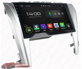 Штатная магнитола Toyota Camry V55 Restyle (2014+) - Android 4.4.4 - Full-touch 10.1 - KLYDE