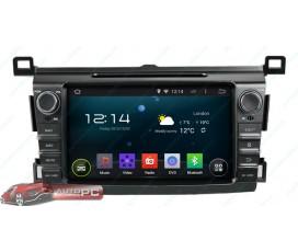 Штатная магнитола Toyota RAV4 2013-2014 - Android 4.4.4 - KLYDE