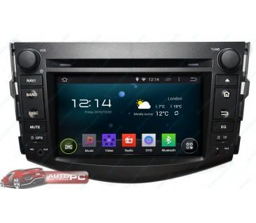 Штатная магнитола Toyota RAV4 2004-2012 - Android 4.4.4 - KLYDE