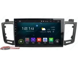 Штатная магнитола Toyota RAV4 2013-2014 - Android 4.4.4 - Full-touch 10.1 - KLYDE