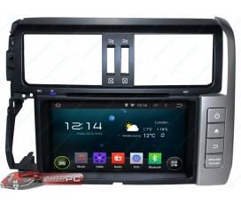 Штатная магнитола Toyota Land Cruiser Prado 150 2009-2013 - Android 5.1.1 - KLYDE