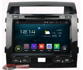 Штатная магнитола Toyota Land Cruiser 200 2008-2015 - Android 5.1.1 - KLYDE