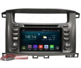 Штатная магнитола Toyota Land Cruiser 100 - Android 5.1.1 - KLYDE