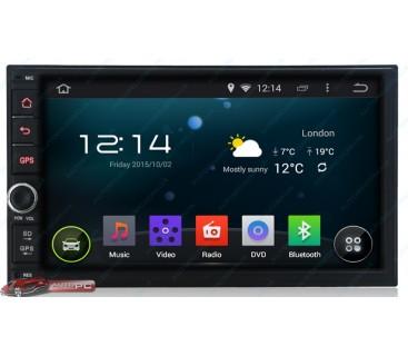 Штатная магнитола Nissan Universal - Android 4.4.4 - KLYDE
