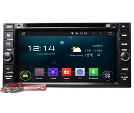 Штатная магнитола Toyota FJ Cruiser - Android 5.1.1 - KLYDE