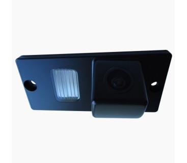 Камера заднего вида для Kia Sportage II (2004-2010), Sorento I (2003-2006) - PRIME-X
