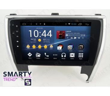 Штатная магнитола Toyota Camry V55 2014-2018 - Android 8.1 (9.0) - SMARTY Trend