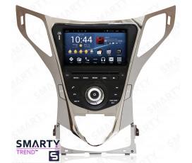 Штатная магнитола Hyundai Azera / Grandeur - Android 8.1 (9.0) - SMARTY Trend