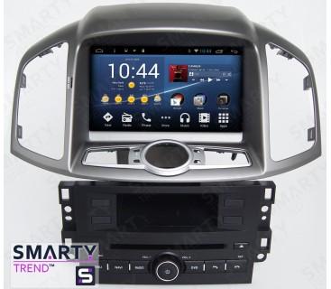 Штатная магнитола Chevrolet Captiva 2011-2014 - Android 8.1 (9.0) - SMARTY Trend