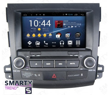 Штатная магнитола Mitsubishi Outlander XL 2005-2012 - Android 8.1 (9.0) - SMARTY Trend