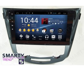 Штатная магнитола Nissan Qashqai 2014+ - Android 8.1 (9.0) - SMARTY Trend