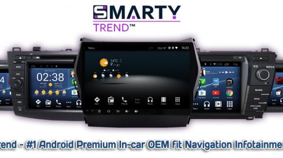 SMARTY Trend – лучший бренд штатных магнитол. Обзор достоинств.