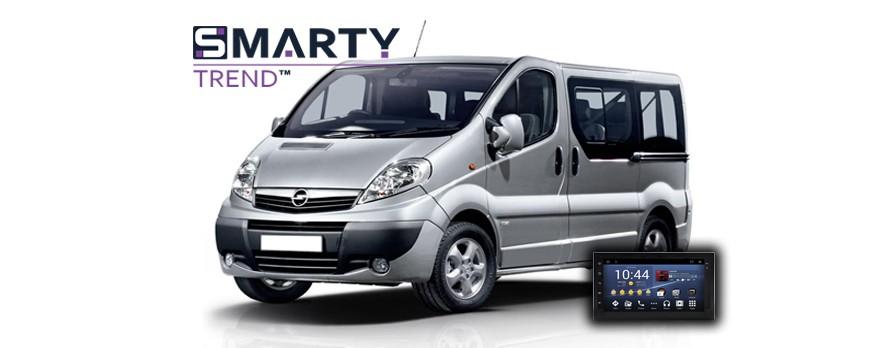 Пример установки головного устройства от компании SMARTY Trend в автомобиль Opel Vivaro.