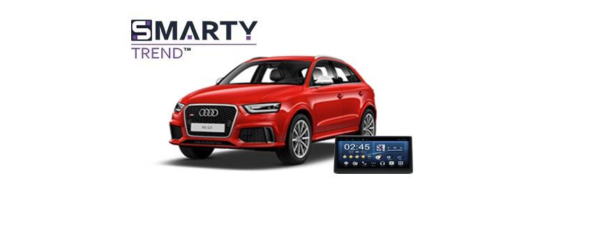 Audi RS Q3 - пример установки головного устройства.