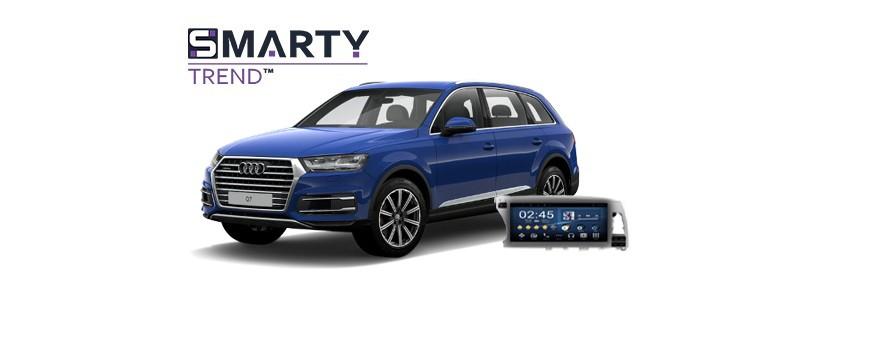 Audi Q7 - пример установки головного устройства.