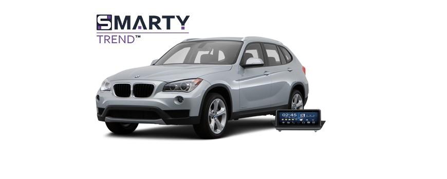 BMW X1 - пример установки головного устройства.