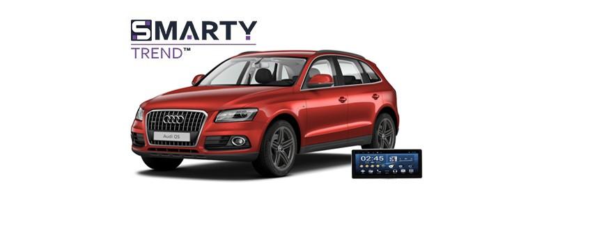 Audi Q5 - пример установки головного устройства.
