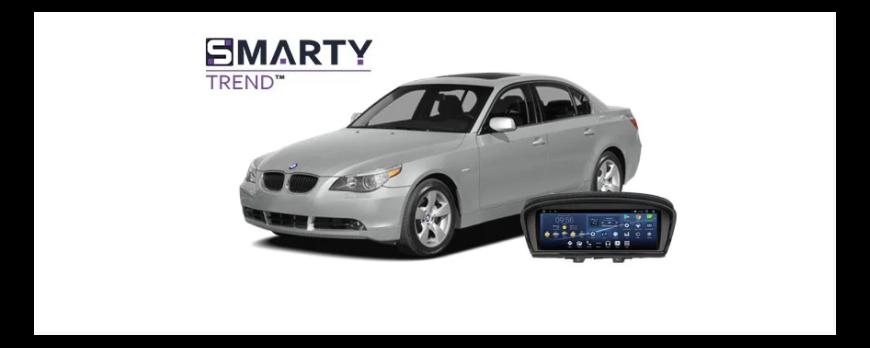 BMW 5 Series (E60) - пример установки головного устройства.