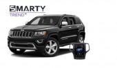 Jeep Grand Cherokee - пример установки головного устройства.