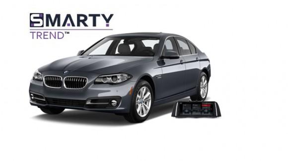 BMW 5 Series (F10) - пример установки головного устройства.
