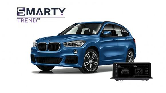 BMW X1 Series F48 2017 - пример установки головного устройства.