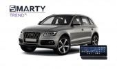 Audi Q5 2013 - пример установки головного устройства.