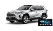 Toyota RAV4 (XA50) 2020 (Hybrid) - пример установки головного устройства