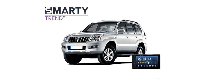 Toyota Land Cruiser Prado 120 2004 - пример установки головного устройства