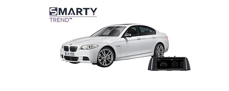 BMW 5 Series F10 2013 - пример установки головного устройства